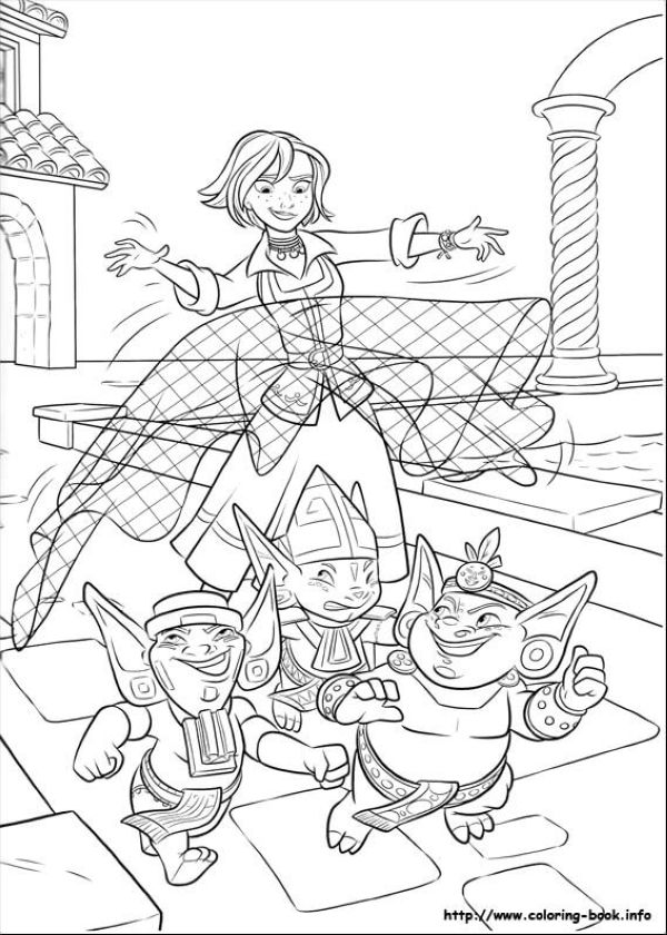 Naomi Turner Elena of Avalor Coloring Page