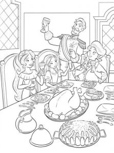 Elena Of Avalor Family Coloring Page