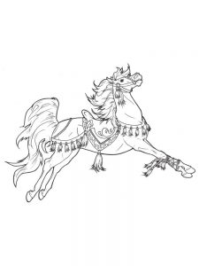 A Horse Coloring Pages