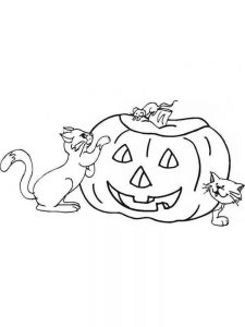 A Pumpkin Coloring Pages