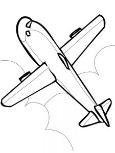 Aircraft Carrier Coloring Pages Free 1
