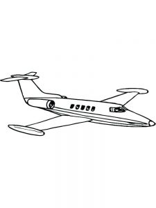 Aircraft Coloring Pages