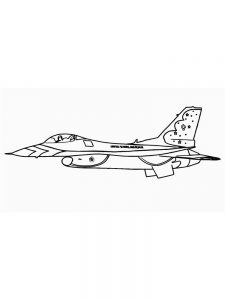 Aircraft Coloring Pages Printable 1