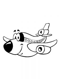 Aircraft Coloring Pages Printable
