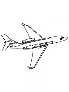 Airplane Coloring Pages For Preschoolers 1