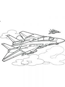 Airplane Coloring Pages Online