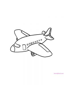 Airplane Coloring Pages Pdf