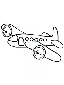Airplane Coloring Sheets Free