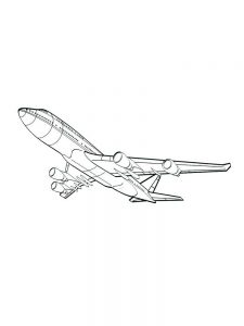 Airplane Seats Coloring Pages