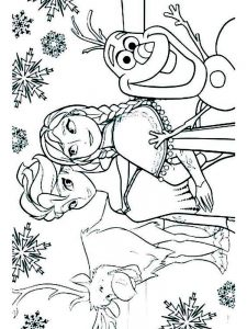 All The Princesses Coloring Pages