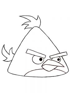 Angry Bird Coloring Pages Pdf