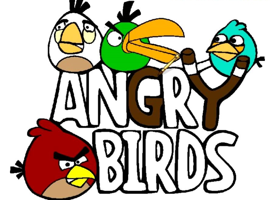Angry Bird Coloring