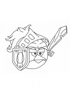 Angry Birds 2 Coloring Pages