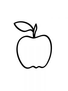 Apple Coloring Pages Pdf