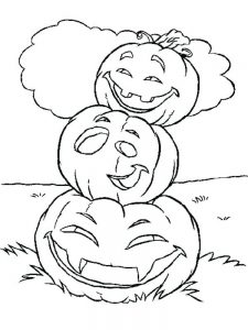 Autumn Pumpkin Coloring Pages