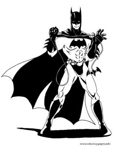 Awesome Batman For Teenagers Coloring Pages Printable