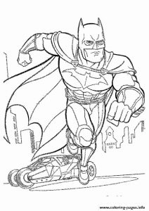 Awesome Printable Batman Coloring Pages Printable