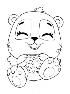 Baby Hatchimals Coloring Pages