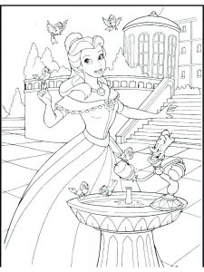 Baby Princesses Coloring Pages
