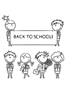 Back To School Coloring Pages Printable