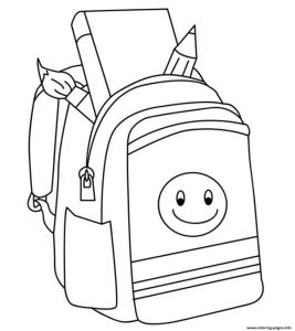 Back To School To Color Coloring Pages Printable
