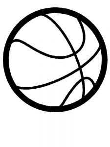 Basketball Coloring Pages Free Printable