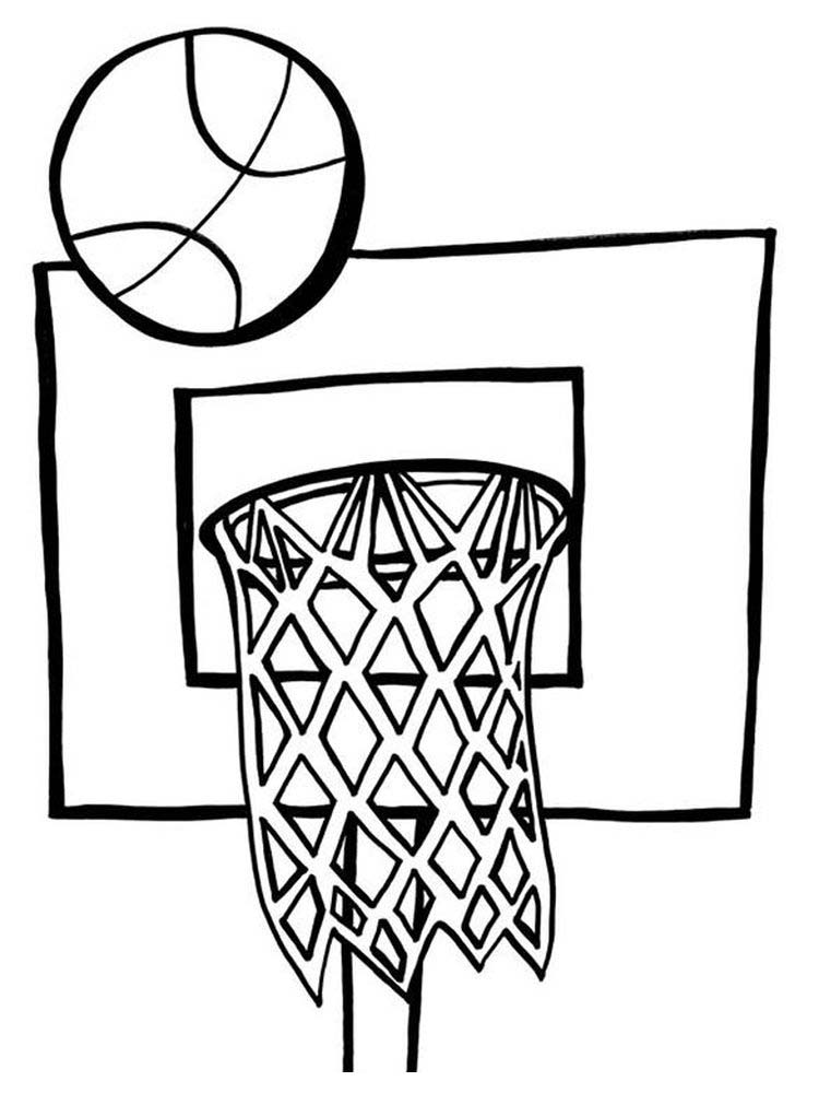 Basketball Coloring Pages Golden State Warriors