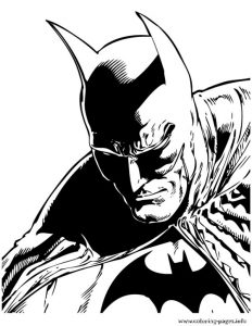 Batman Comic For Teenagers Coloring Pages Printable