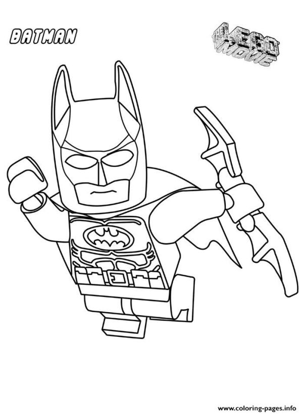 Batman Movie Coloring Pages Printable