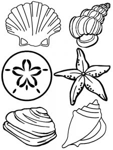 Beach Colouring Pages For Adults