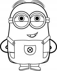 Best funny minions funny coloring pages