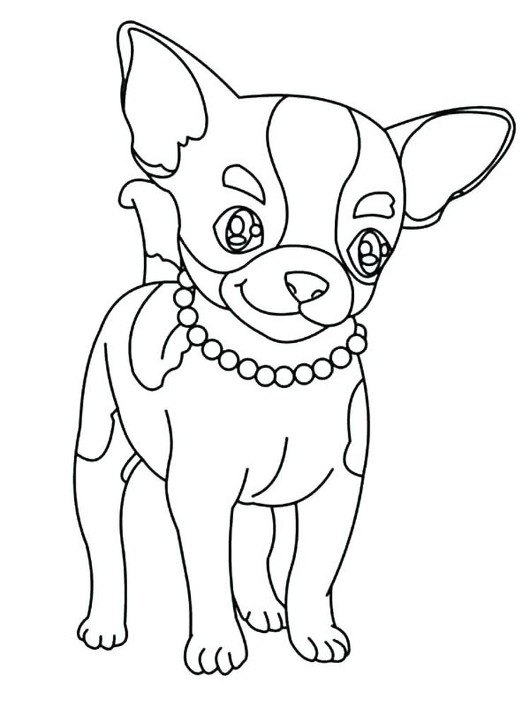 Beverly Hills Chihuahua Coloring Pages