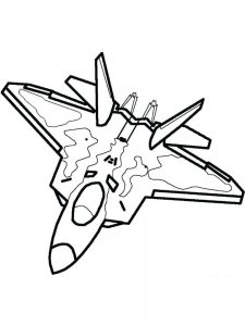 Big Airplane Coloring Pages