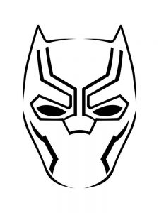 Black Panther Coloring Pages Lego