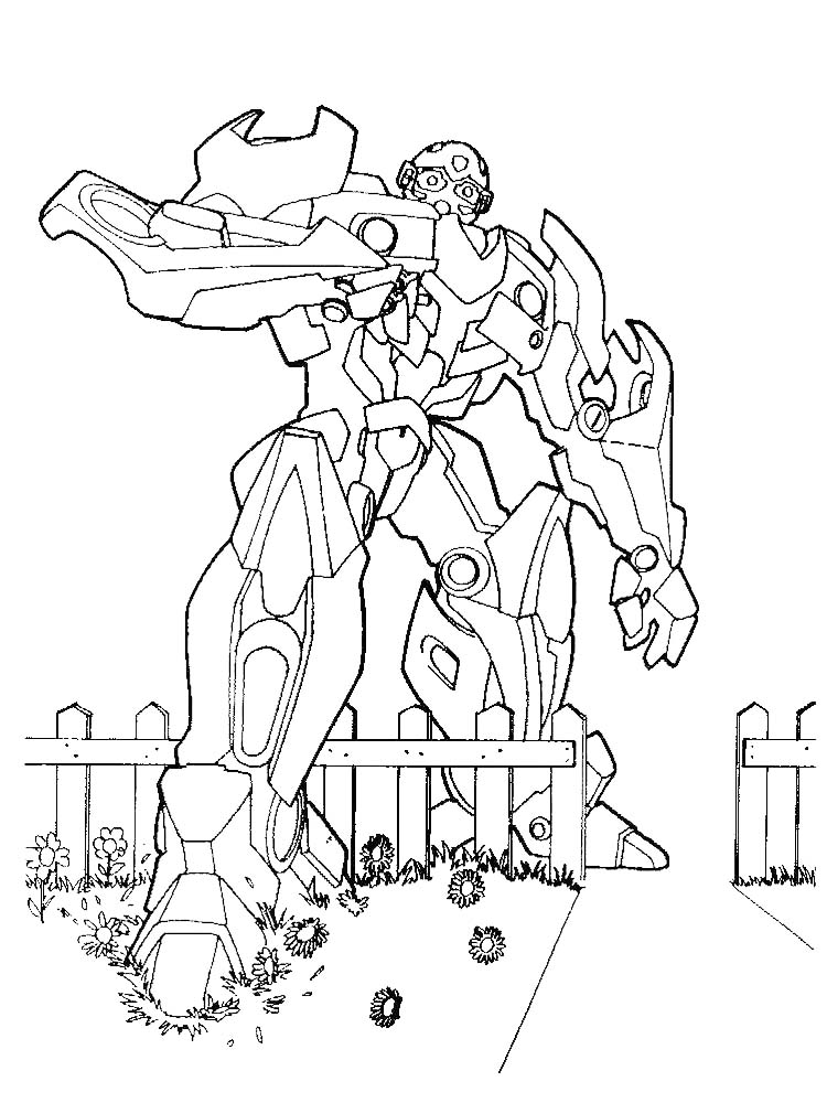 Bumblebee Camaro Coloring Pages