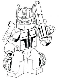 Bumblebee From Transformers Coloring Pages