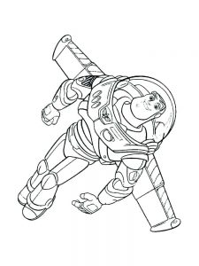 Buzz Lightyear And Woody Coloring Pages