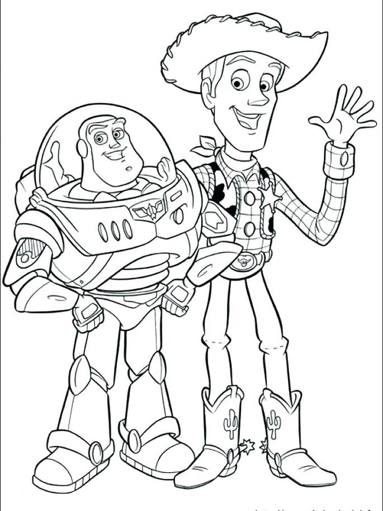 Buzz Lightyear Coloring Pages Free To Print