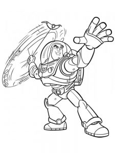 Buzz Lightyear Colouring Pages To Print