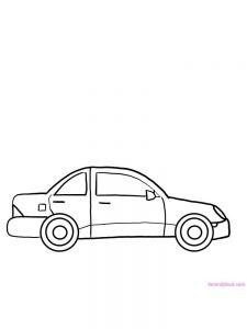 Car Coloring Pages Free