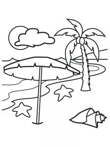 Caribbean Island Coloring Pages