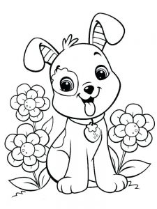 Cat And Dog Coloring Pages For Adults