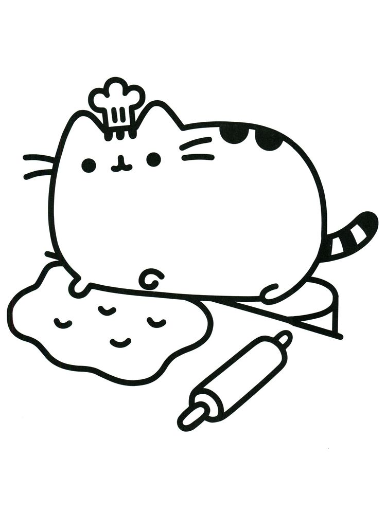 Cat Coloring Pages For Toddlers
