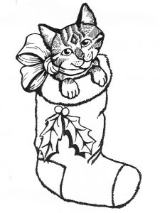 Cat Coloring Pages Halloween