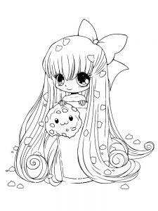 Chibi Animal Coloring Pages
