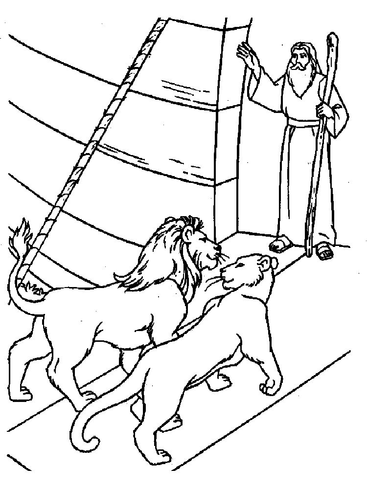Childrens Coloring Pages Of Noahs Ark