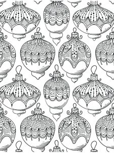 Christmas Coloring Pages Of Ornaments
