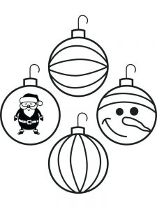 Christmas Ornament Coloring Pages For Adults