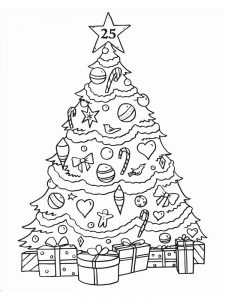Christmas Ornament Coloring Pages Pdf