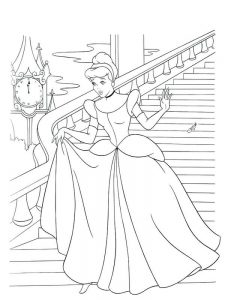 Cinderella Coloring Pages Free Download